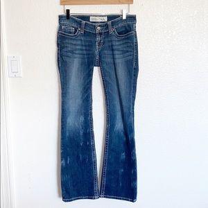 BKE Denim Stella Bootcut Distressed Look Jeans